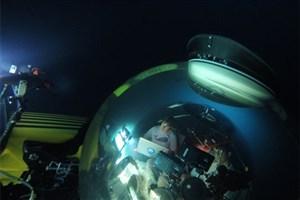 جستجو زیر دریا با کمک بازوی رباتیک