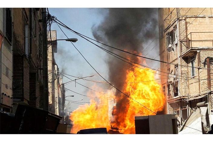 انفجار ساختمان مسکونی