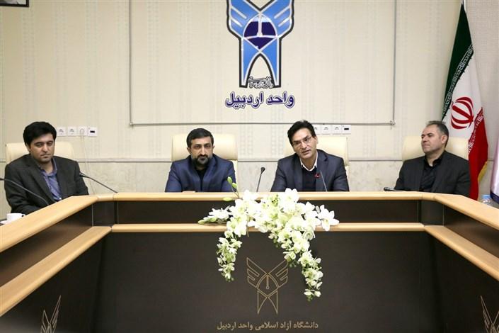 نشست مدیران صنایع استان با مسئولان واحد اردبیل