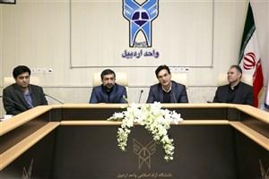 صنایع استان از لحاظ فکری و اجرایی به دانشگاه کمک کنند