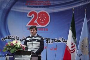 احمدی: دانشگاه آزاد یکی از ارکان مهم توسعه ورزش دانشگاهی در ایران است