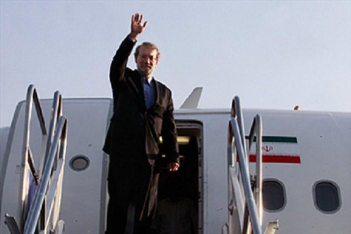 علی لاریجانی در فرودگاه