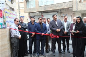 افتتاح کوچه نمونه در شرق تهران