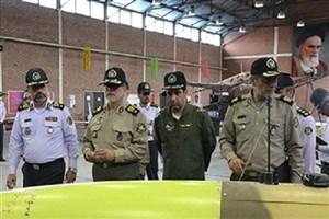 امیر دادرس از یگان پهپادی قرارگاه پدافند هوایی ارتش بازدید کرد