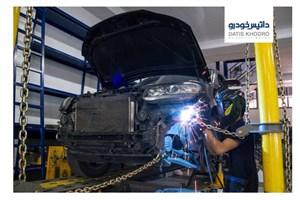 صافکاری حرفه ای جهت تعمیر خودروهای ولوو