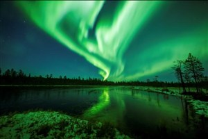 پدیده زیبای شفق قطبی