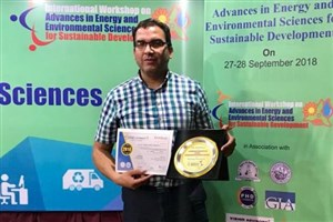 دستاوردهای پژوهشی دانشگاه آزاد  توسط هیات علمی واحد اهر در هندوستان ارائه شد