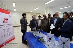 دکتر طهرانچی از مرکز تحقیقات و رشد دانشگاه آزاد اسلامی کاشان بازدید کرد