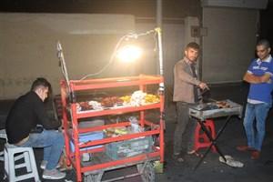 6 سیخ جگر سیخی 6 هزار /جگر خوری شبانه در تهران با موشهای نروژی