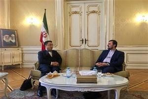 ایران وچین برگسترش همکاریهاومقابله با تحریمهای آمریکا تاکید کردند