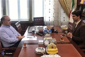 دیدار رئیس جدید فدراسیون گلف با سلطانیفر