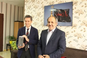Instituto Cervantes Representative Visits North Tehran IAU
