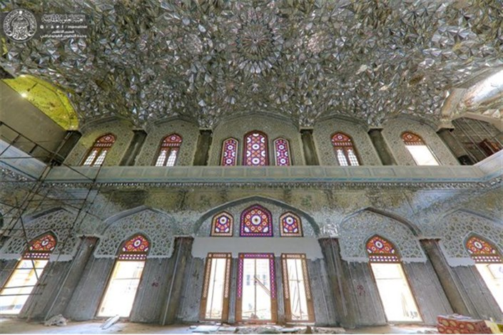 درهای صحن حضرت زهرا (س) فردا به روی زائران اربعین باز میشود