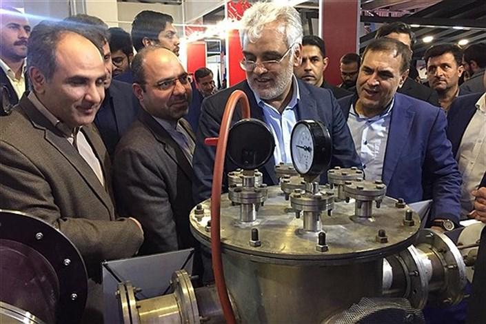 دکتر طهرانچی بازدید فناوری نانو