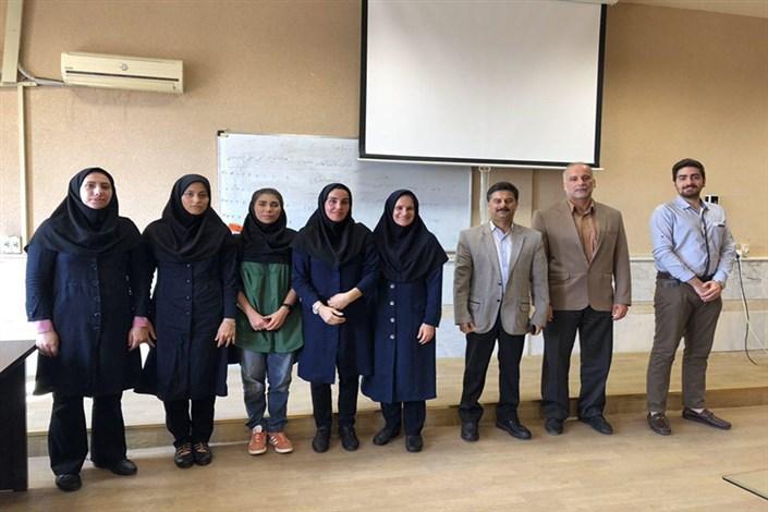 انجمن علمی تربیت بدنی دانشگاه آزاد اسلامی واحد رشت