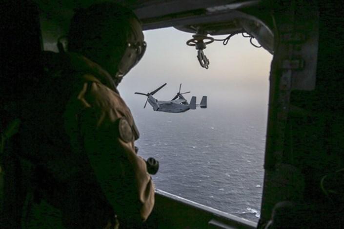 افزایش پرواز پهپادهای ایرانی در نزدیکی ناوهای  جنگی آمریکا در خلیج فارس
