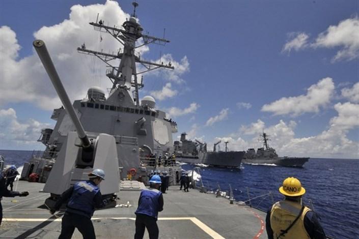 افزایش پرواز پهپادهای ایرانی در نزدیکی ناوهای جنگی آمریکا در خلیجفارس