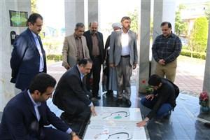 بازدید مدیرکل فرهنگی دانشگاه آزاد از ظرفیت های فرهنگی و دانشجویی واحد لاهیجان