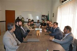 بازدید مدیر کل امور فرهنگی و اجتماعی دانشگاه آزاد اسلامی از واحد بندر انزلی