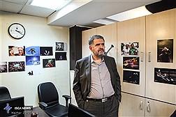 حضور فرج الله رجبی نماینده مجلس شورای اسلامی در ایسکانیوز