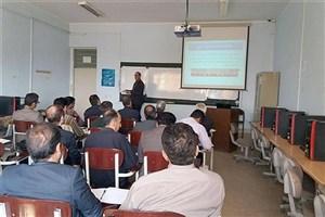 کارگاه آموزشی تفسیر عکس های هوایی و ماهواره ای در واحد میانه برگزار شد