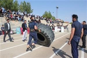 مسابقه قوی ترین دانشجویان  شهرستان شاهرود برگزار شد