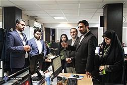 حضور رئیس کمیسیون تجاری ایران و عراق در مرکز رسانه های دانشگاه آزاد