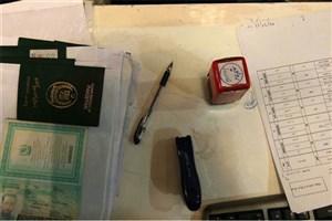 جاعلان حرفه ای با 175 ویزای جعلی دستگیر شدند