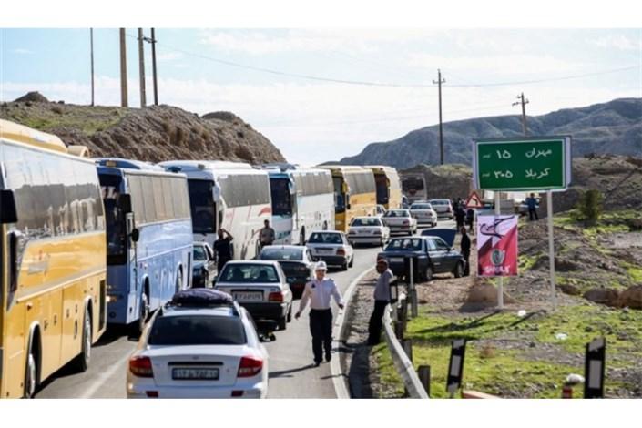 ترافیک سنگین ایلام- مهران