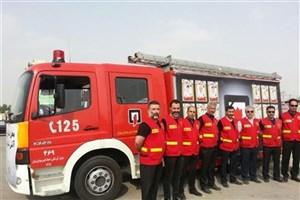 استقرار ۲۶۰ آتش نشان در تهران درایام  تاسوعا و عاشورا