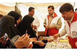 نجات دختر ۱۰ ساله عراقی در درمانگاه هلال احمر در کربلا