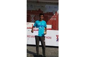 SAMA IAU Student Wins Bronze in 2018 Yerevan Marathon