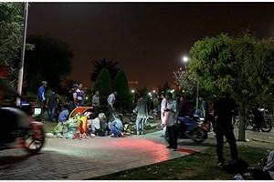 شب گرمخانه، روز پارک/ جولان معتادان در پارک