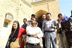 گروه ایسکارسا از آثار تاریخی خوزستان بازدید کردند+عکس