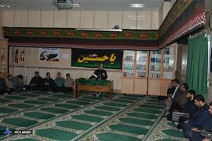برگزاری مراسم اربعین در دانشگاه آزاد اسلامی واحد بندرانزلی