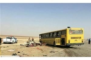 اعلام اسامی قربانیان تصادف اتوبوس با ون حامل  زائران ایرانی در عراق
