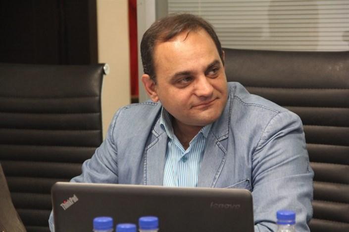 آرمان خالقی قائممقام خانه صنعت ایران