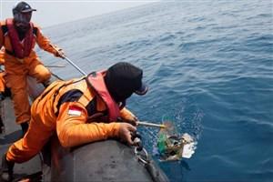 جبعه سیاه هواپیمای خطوط هوایی اندونزی پیدا شد