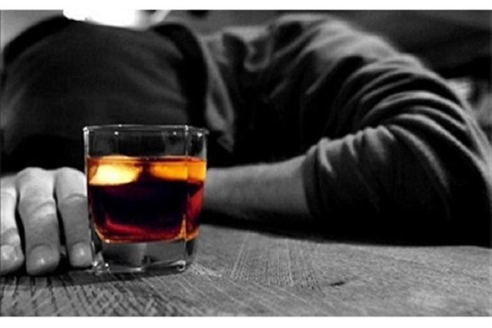 مرگ با مصرف مشروبات الکلی