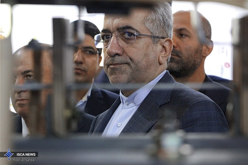 افتتاح هجدهمین نمایشکاه بین المللی صنعت برق ایران با حضور وزیر نیرو