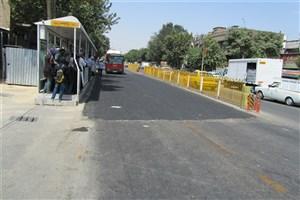 استفاده از شیوه های نوین برای زیر سازی ایستگاه های اتوبوس تندرو در مرکز تهران