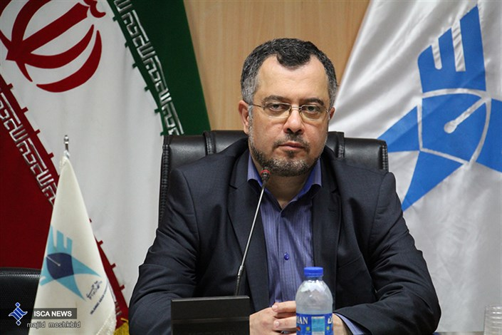 دکتر ابراهیم چیرانی رئیس دانشگاه آزاد اسلامی استان گیلان