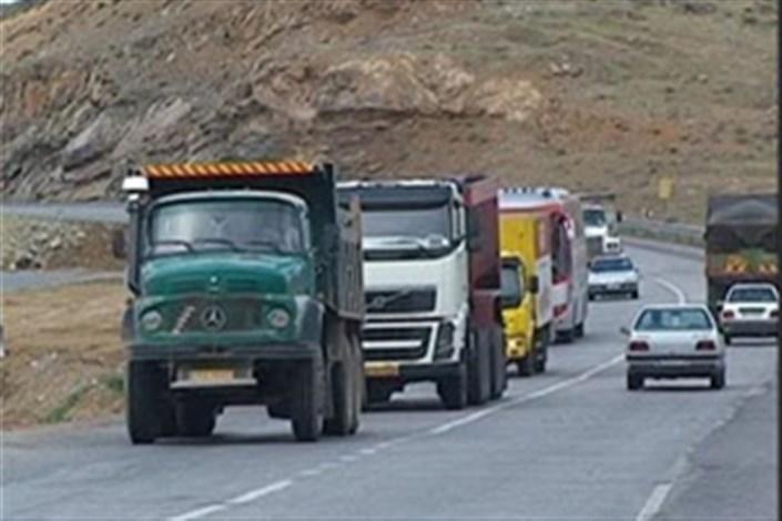 ممنوعیت 2 روزه تردد خودروهای سنگین باری