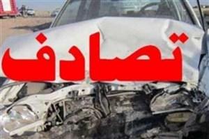 جزئیات تصادف در جاده واوان / یک کشته و ۴ مصدوم در تصادف نیسان و رونیز