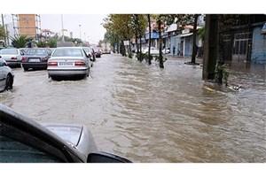 جزئیات امدادرسانی در مناطق گرفتار سیل و آبگرفتگی/مرگ یک نفر در خوزستان