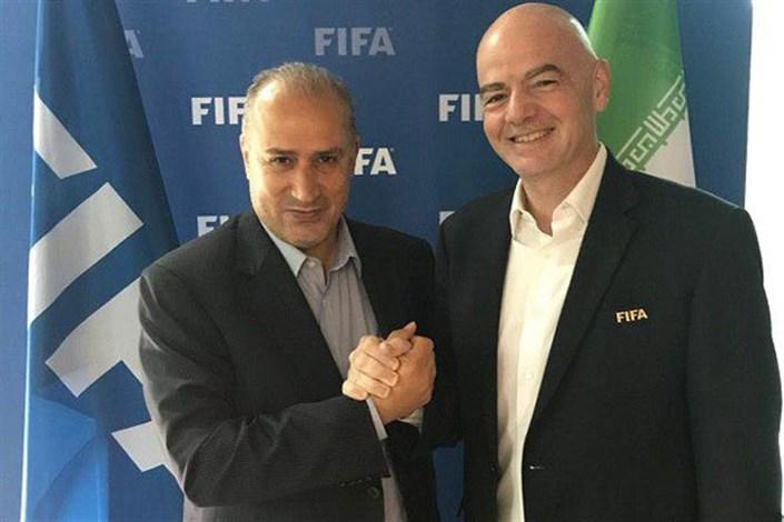 رئیس فیفا