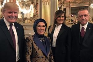 دیدار روسای جمهور آمریکا و ترکیه در پاریس