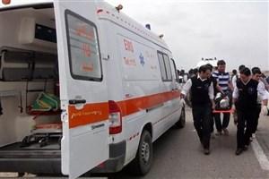 پسر ۲۰ ساله مقابل وزارت کارخود سوزی کرد