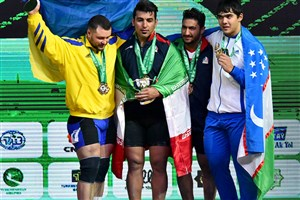 Ilam IAU Student Becomes Champion in 2018 World Weightlifting C'ship