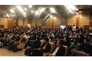 مراسم استقبال از دانشجویان ورودی جدید دانشگاه آزاد واحد پرند برگزار شد